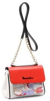 Braccialini Chiara Tonal Leather Shoulder Bag