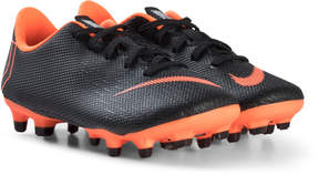 Nike Black and Orange JR Academy PS MG Boots