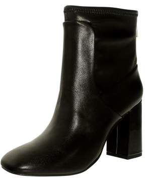 Charles David Charles By David Women's Trudy Black Ankle-High Leather Boot - 10M