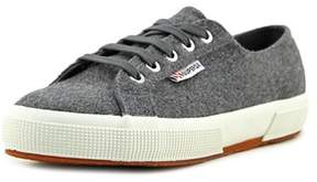 Superga 2750 Polywoolw Men Round Toe Synthetic Gray Sneakers.