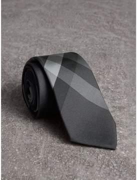 Burberry Modern Cut Beat Check Silk Tie