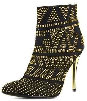 Thalia Sodi Womens Alejandra Suede Pointed Toe Ankle Fashion Boots.