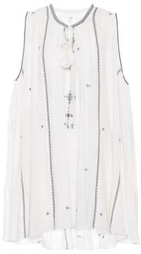 Etoile Isabel Marant Isabel Marant, Étoile Embroidered cotton swing dress