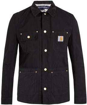 Junya Watanabe X Carhartt contrast-collar jacket