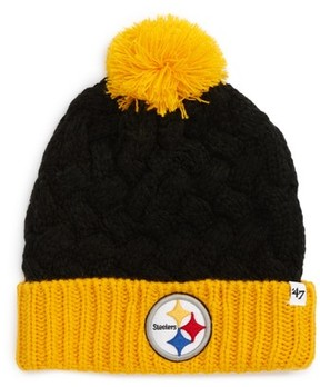 '47 Women's Matterhorn Pittsburgh Steelers Beanie - Black