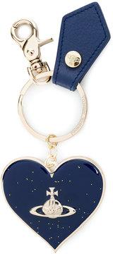 Vivienne Westwood logo heart keychain