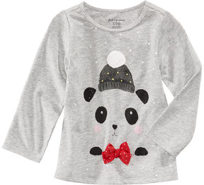 First Impressions Panda-Print T-Shirt, Baby Girls (0-24 months), Created for Macy's