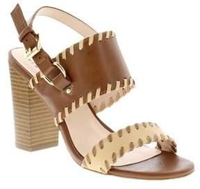 Nicole Miller Women's Victoria Block Heel Sandal.