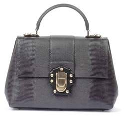 Dolce & Gabbana Dolce E Gabbana Women's Grey Leather Handbag. - GREY - STYLE