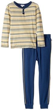 Splendid Littles Striped Henley Shirt and Pants Set (Toddler)