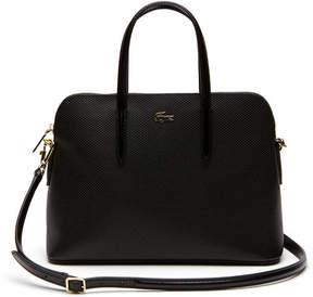 Lacoste Women's Chantaco Dual Carry Piqu Leather Bugatti Bag