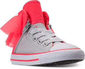 Converse Toddler Girls' All Star Block Party High Top Casual Sneakers from Finish Line