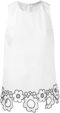 Christopher Kane daisy tank top