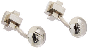 Louis Vuitton Silver-Tone Cufflinks