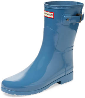 Hunter Women's Original Short Refined Gloss Rain Boot