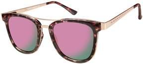Vince Camuto Retro Browbar Sunglasses