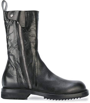 Rick Owens Army-inspired boots
