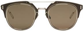 Christian Dior Silver Composit 1.0 Sunglasses