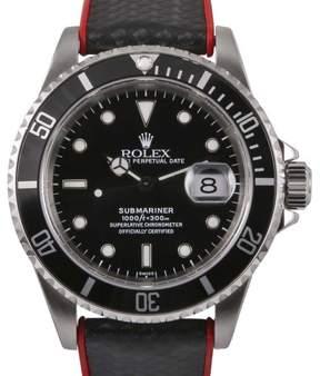 Rolex Submariner 16800 Stainless Steel & Black Dial 40mm Mens Watch