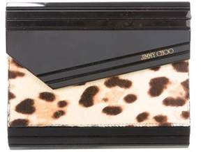 Jimmy Choo Ponyhair Candy Clutch
