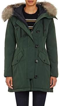Moncler Women's Fur-Trimmed Aredhel Coat