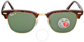 Ray-Ban Clubmaster Polarized Green Classic G-15 Sunglasses