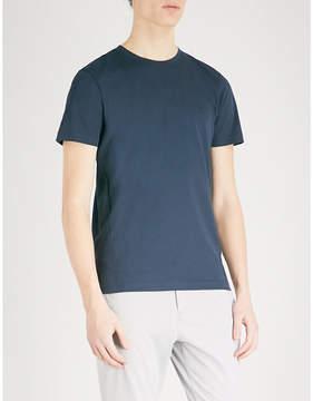 BOSS GREEN Sport logo-print mesh T-shirt