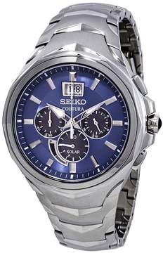 Seiko Coutura Chronograph Blue Dial Men's Watch