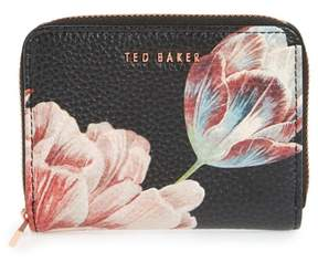 Ted Baker Joannaa Tranquility Print Leather Zip Coin Purse