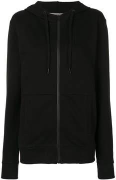 CK Calvin Klein logo print zipped hoodie