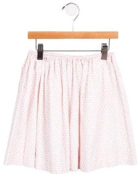 Marni Girls' Ruched Printed Skirt w/ Tags