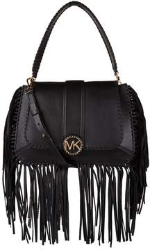MICHAEL Michael Kors Medium Leather Lillie Fringed Shoulder Bag