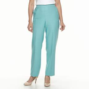 Alfred Dunner Women's Studio Pull-On Flat Front Pants