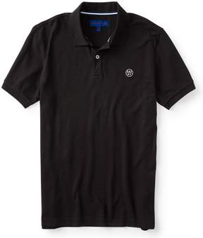 Aeropostale A87 NY Solid Stretch Pique Polo