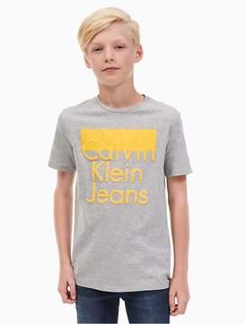 Calvin Klein Jeans Boys Tiered Logo T-Shirt