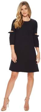 Ellen Tracy A Line Dress With Cut Out Women's Dress