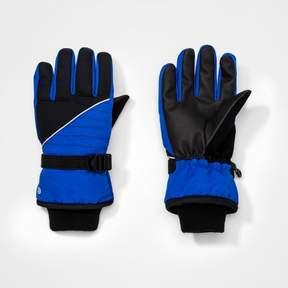 Champion Boys' Colorblock Gloves Blue/Black