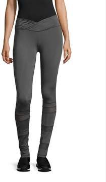 Electric Yoga Women's Slim Waist With Mesh Leggings