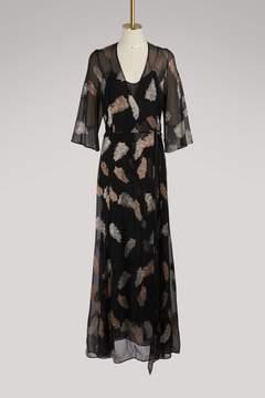 Forte Forte Desert Leaf printed dress