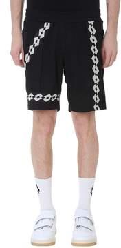 Damir Doma Paris Black Cotton Shorts