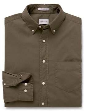 Gant Men's Brown Cotton Shirt.