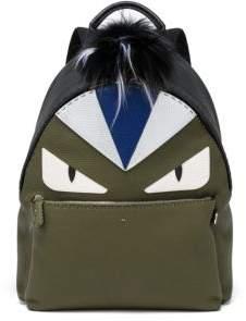 Fendi Monster Eye Leather Backpack