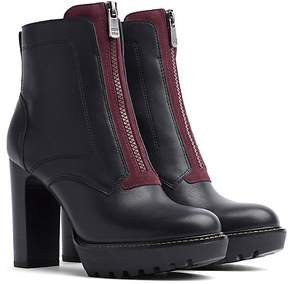 Tommy Hilfiger Zip Front Ankle Boot