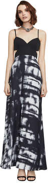 BCBGMAXAZRIA Viviane Broken Reflection Maxi Dress