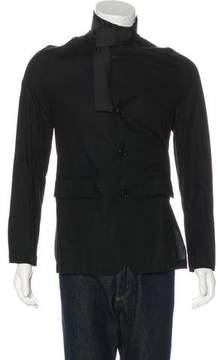 Ann Demeulemeester Lightweight Striped Jacket