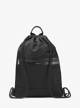 Michael Kors Kent Nylon Drawstring Backpack