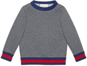 Children's sweatshirt with Web