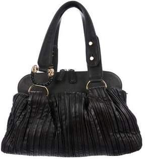 Bvlgari Leoni Leather Satchel