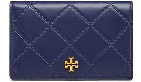 Tory Burch GEORGIA SLIM MEDIUM WALLET - ROYAL NAVY - STYLE