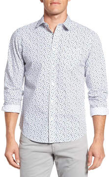 Ben Sherman Floral Print Slim Fit Shirt